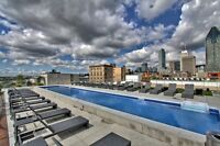 Luxury Downtown/Oldport/Griffintown Condo.  Rooftop pools,bbq