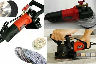 Wet Polisher Grinder Dust Shroud 101 Polishing Finishing Buff Granite Concrete
