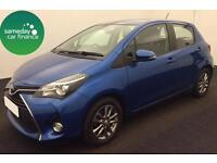 £165.72 PER MONTH BLUE 2014 TOYOTA YARIS 1.33 VVT-i ICON 5 DOOR PETROL MANUAL