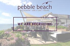 Junior Sous Chef at Pebble Beach Restaurant, Barton-on-Sea