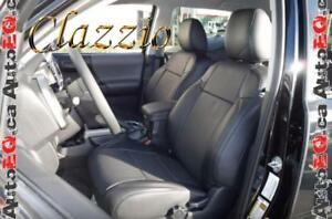 Clazzio Synthetic Leather Seat Covers (Front + Rear Rows)   2014-2018 Toyota 4Runner