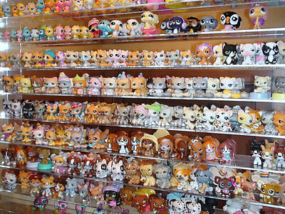 30pcs Littlest Pet Shop Lot LPS Girl Animasl Loose Figures Child Collection PS95 on Rummage