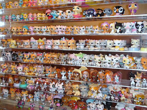 30pcs Littlest Pet Shop Lot LPS Girl Animasl Loose Figures Child Collection PS95