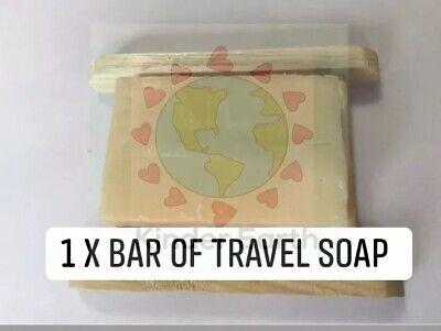 Friendly Soap - 1 Travel Soap - Natural -Vegan  Multipurpose Hair Body &