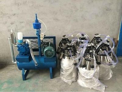 8 Pail Milking Machine - Milk 8 Cows At Once - Fedex - Factory Direct