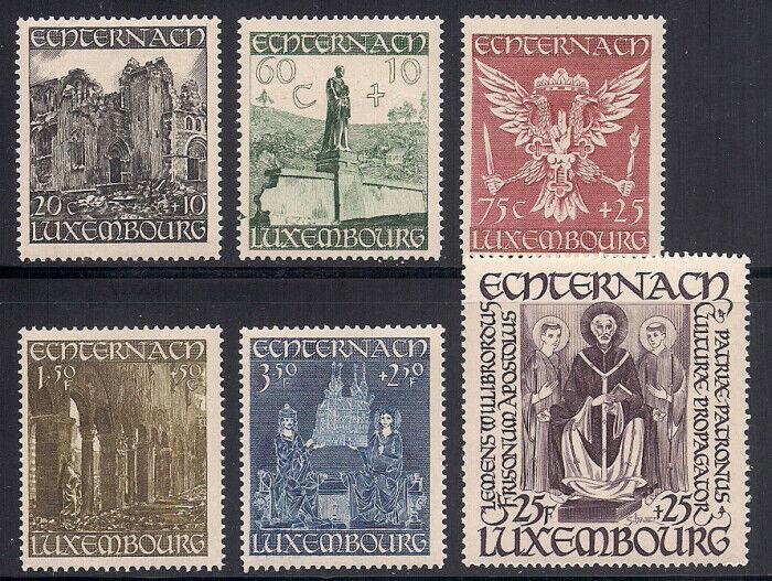 Luxembourg 1947 Sc B137-42 VLH OG 2-8562  - $4.95