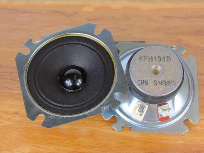 "2pcs 4/""inch 6ohm 6Ω 15W Tweeter Speaker Loudspeaker Home Audio parts 100mm"