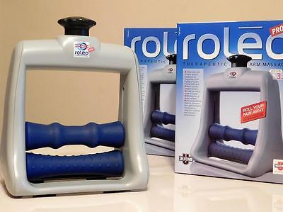 NEW ROLEO Pro! Arm,Wrist, Hand Massager Carpal Tunnel Repetitive Stress Relief   (Foot Pro Massager)