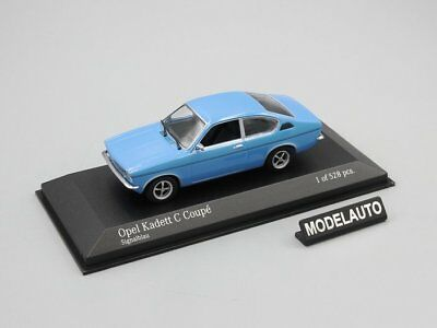 Minichamps 1:43 OPEL KADETT C COUPE 1973  BLUE L.E. 528 pcs. for sale  Shipping to United States