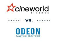 Cineworld and Odeon Tickets