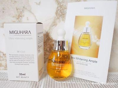 MIGUHARA Ultra Whitening Ample 35ml  Natural Cosmetics  K-Beauty