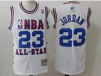 Retro NBA all Star Basketball jersey shirt JORDAN IVERSON BARKLEY
