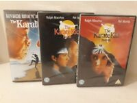 3 x Karate Kid DVD Collection