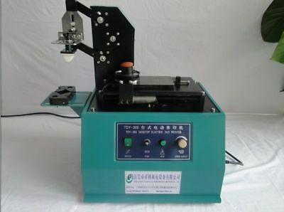 Square Plate Pad Printer Date Coding Machinelogo Printing Machine Tdy-300c 220v