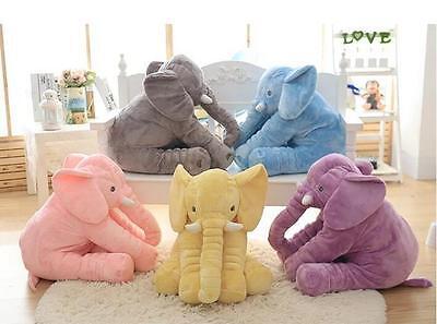Kinder Baby Elefant Kissen Stofftier Kuscheltier Spielzeug Pillow Baby Geschenk ()