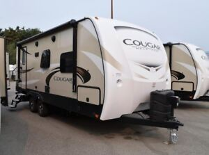 2018 Cougar 1/2 Ton TT - Travel Trailers Lightweight 22RBSWE