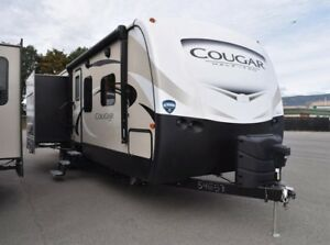 2018 Cougar 1/2 Ton TT - Travel Trailers Lightweight 33MLS