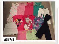 Age 7/8 girls clothes bundle