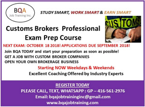 FREE DEMO CLASS OF CUSTOMS BROKERAGE BUSINESS COURSE