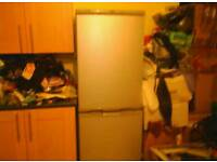 Sliver zanussi frost free fridge freezer