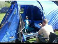 Vango Icarus 500 and camping gear
