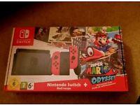 NINTENDO SWITCH+Super Mario bundle New sealed