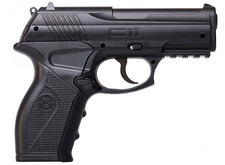 Crosman C11 C11 (Black)Co2 Powered Semi-Auto Bb Airsoft Pistol