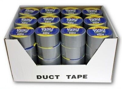 Wholesale Bulk Silver Duct Tape 2 X 30 10 Yd Case Of 48 Rolls