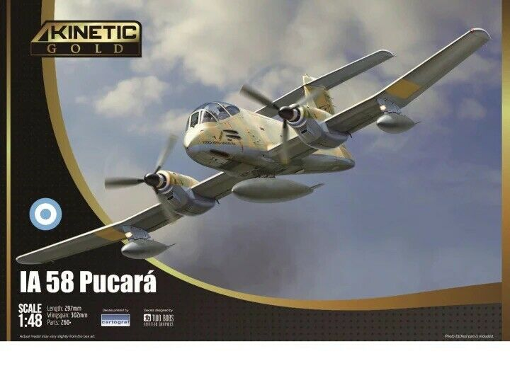 1/48 Kinetic #48078 IA-58 Pucara