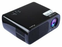 Portable HD LED Projector for Home Theater 2600 Lumens Support 1080P