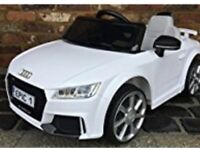 Kids Audi TT electric car