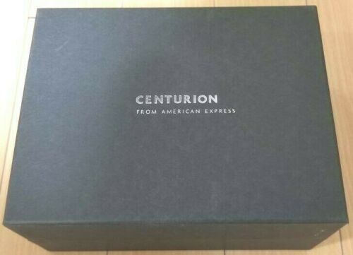 American Express Overnight Box Centurion Members Limited Product AMEX Black Card