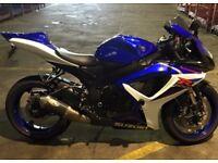 Blue Suzuki gsxr600, passed MOT 22/3/18
