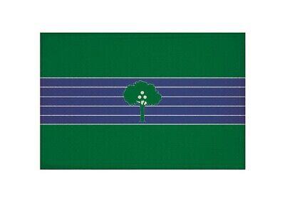 Aufnäher Abrera (Spanien) Fahne Flagge Aufbügler Patch 9 x 6 cm