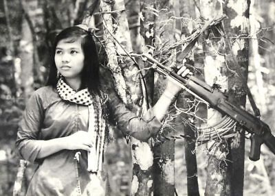 Vietnam War NVA Fighter Ho Chi Minh Trail 1967 Pretty Deadly 8.5x11 Glossy Photo