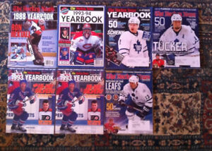 The Hockey News yearbooks magazine lot