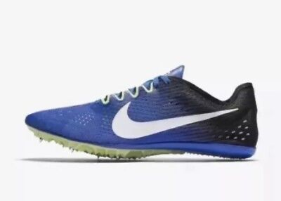 59cac62e8a2 Nike Zoom Victory 3 Track Spikes 835997-413 Men s US 10 Blue Volt NEW  125