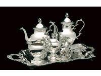 Wanted - antique silver and gold - collector - cash waiting