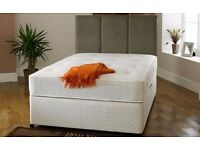 King Size Orthopaedic bed and mattress - used for 10 weeks only