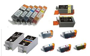 10-COMPATIBLE-INK-CARTRIDGES-FOR-CANON-PIXMA-MULTIPASS-CHOOSE-YOUR-COLOURS
