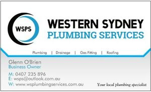 DO YOU NEED A PLUMBER? WE ARE YOUR LOCAL PLUMBER Mount Druitt Blacktown Area Preview