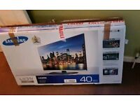 Samsung 40 inch supper slimline led tv new in box