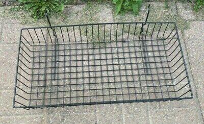 New 24 X 12 X 4 Basket For Gridwallslatwallpegboard - Black 1pc
