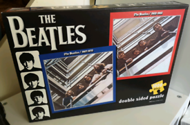 Beatles Blue/Red Album Double-sided 1000-piece Jigsaw Puzzle