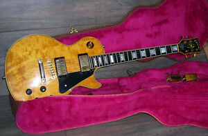 1978 Gibson Les Paul Custom Natural with Gibson HSC