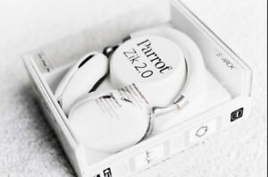 new parrot zik 2.0 white headphones
