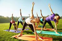 Yoga in the Park Fundraiser