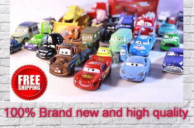 Disney Pixar Cars 2 and 3 McQueen Storm Diecast Metal Alloy Toy Car 1:55 Loose  - Car 2 Toys