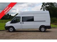 FORD TRANSIT T350 2.2 TDCI 125PS LONG WHEEL BASE 9 SEAT CREW VAN