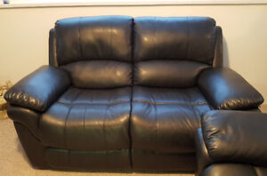LEATHER (FAUX) COUCH SET FOR SALE!! ALL RECLINERS!!